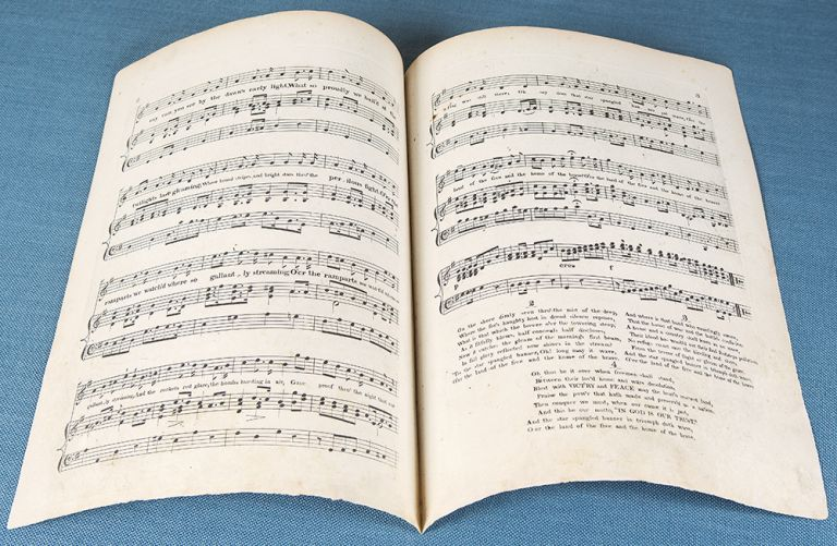 The Star Spangled Banner, Sung by Messrs. Darley & Nicholls, Composed by J. Hewitt. Francis Scott KEY.