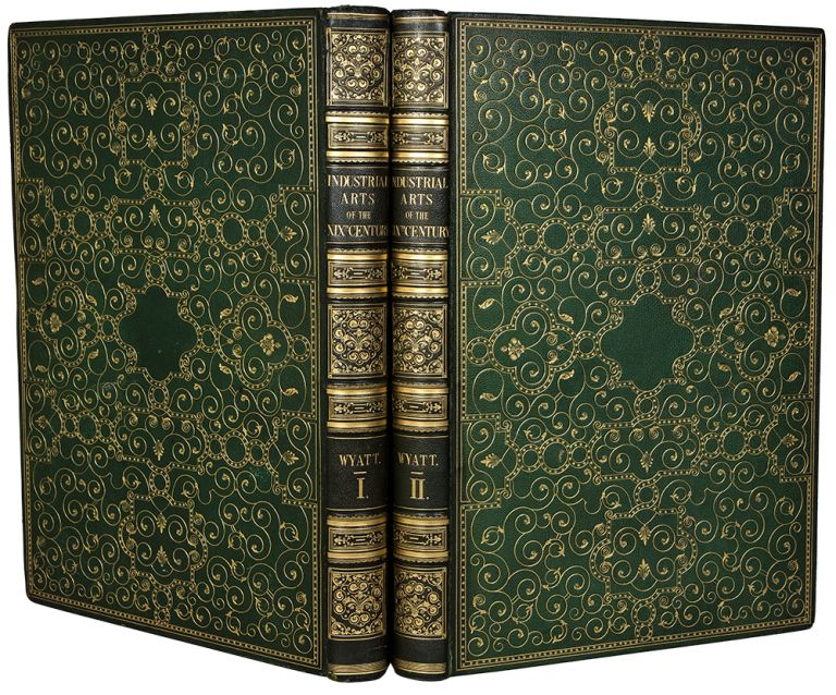 The Industrial Arts of the Nineteenth Century. Sir Matthew Digby WYATT, - David BATTEN, binder.