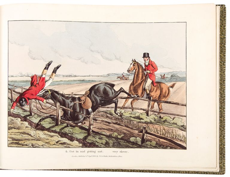 Qualified Horses and Unqualified Riders ... Ben Tally-Ho. Henry ALKEN.