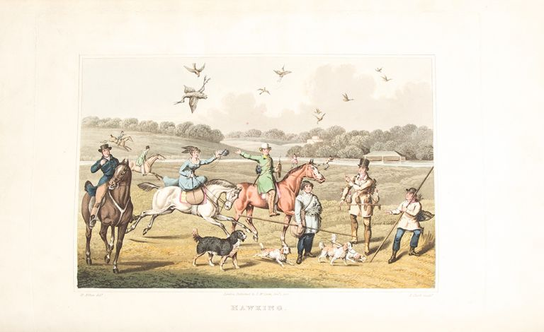 The National Sports of Great Britain ... with Descriptions in English and French ... Chasse et Amusemens Nationaux de la Grande Bretagne. Henry Thomas ALKEN.