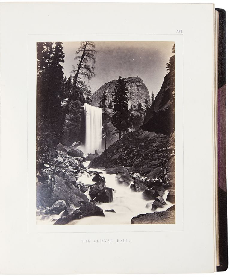 The Yosemite Book; A Description of the Yosemite Valley and the Adjacent Region of the Sierra Nevada, and of the Big Trees of California. Josiah Dwight WHITNEY.