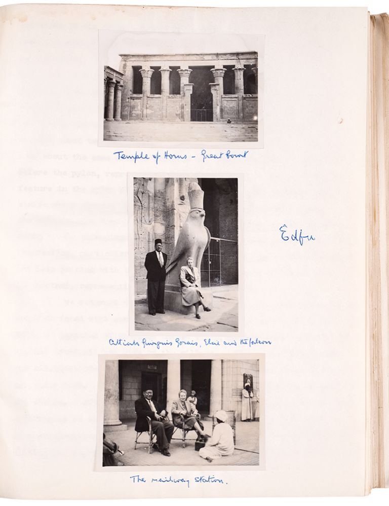 [Archive of photographically-illustrated typescript memoirs of travels in Africa before, during and after World War II]. Brian Fraser MACDONA.
