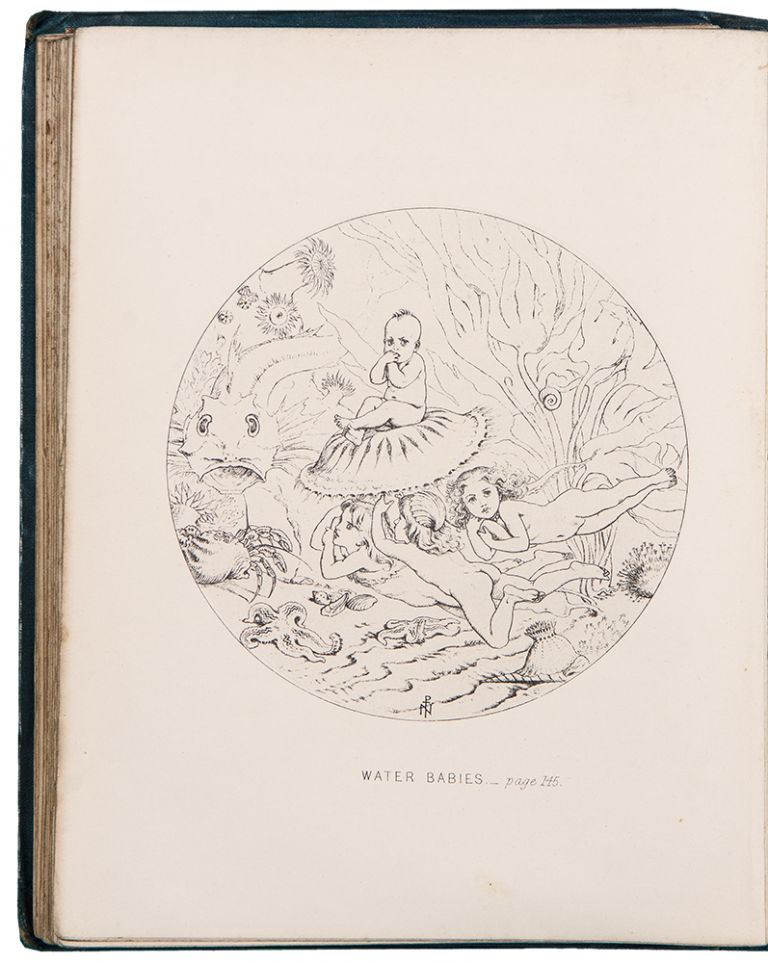 The Water-Babies: A Fairy Tale for a Land-Baby. Charles KINGSLEY, J. PATON.
