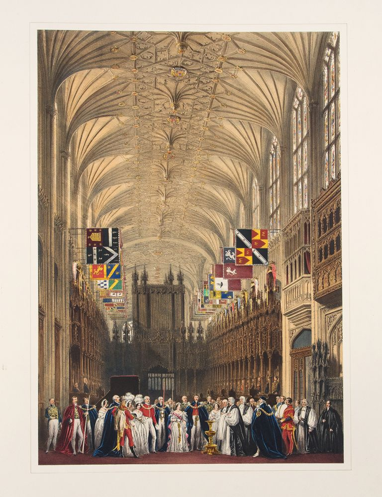 Views of the Interior and Exterior of Windsor Castle. Joseph NASH.