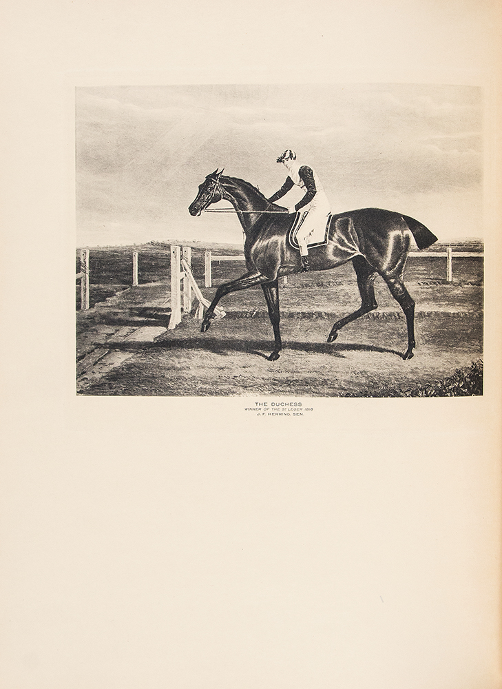 Cherished Portraits of Thoroughbred Horses, from the collection of William Woodward with Notes by W.S. Vosburgh. William WOODWARD, W S. VOSBURGH.