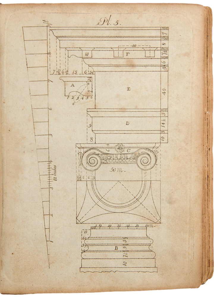 The Country Builder's Assistant: Containing a Collection of New Designs of Carpentry and Architecture. Asher BENJAMIN.