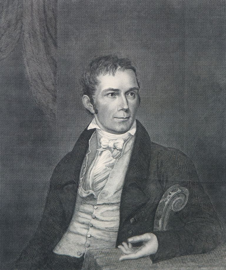 Henry Clay. Jarvis Griggs KELLOGG, after Charles Bird KING.