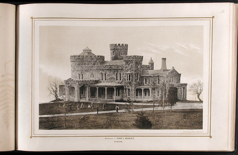 Villas on the Hudson. A Collection of Photo-lithographs of Thirty-one Country Residences. A. A. TURNER.