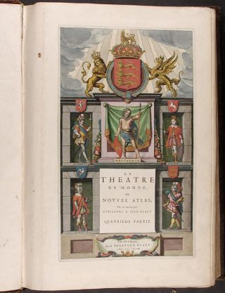 Le Théâtre du monde, ou nouvel atlas....quatrieme partie [Theatrum, volume IV: England and Wales]