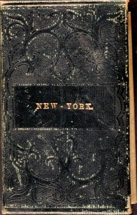 Map of the State of New York Compiled from the Latest Authorities. S. Augustus MITCHELL