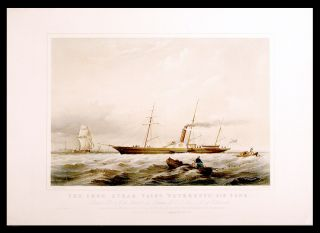 "The iron steam yacht ""Peterhoff"", 416 tons. Built for H.I.M. the Emperor of Russia, by C.I. More..."