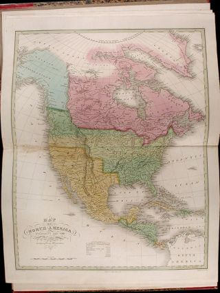 A New American Atlas, designed principally to illustrate the Geography of the United States of North America; in which every county in each State and Territory of the Union is accurately delineated, as far as at present known: the whole compiled from the latest and most authentic information