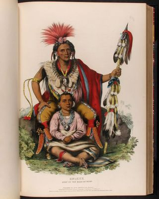 History of the Indian Tribes of North America, with Biographical Sketches and Anecdotes of the Principal Chiefs. Embellished with One Hundred Portraits from the Indian Gallery in the War Department at Washington