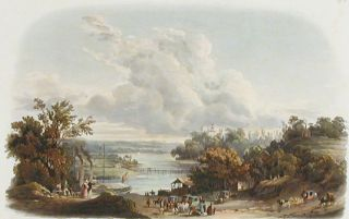View on the Delaware, near Bordentown