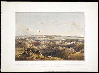 Junction of the Yellow-Stone River with the Missouri. Karl BODMER