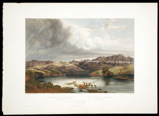 The White Castels on the Upper Missouri. Karl BODMER