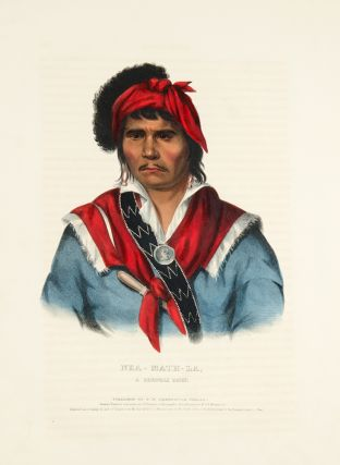Nea-Math-La, a Seminole Chief. Thomas L. MCKENNEY, James HALL