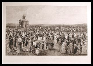 The Derby Day at Flemington. After Carl KAHLER