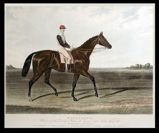 Kingcraft. Winner of the Derby Stakes at Epsom 1870... By King Tom out of Woodcraft. The Property of Lord Falmouth - Trained by Matthew Dawson - Ridden by T. French. After MASON.
