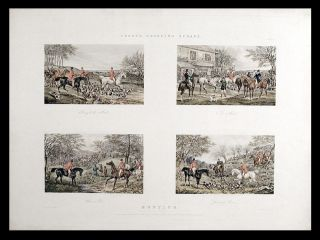 Fores's Sporting Scraps. Plate 2. Hunting. After Henry Thomas ALKEN