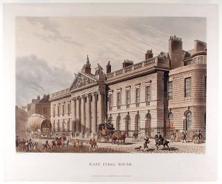 East India House. After Thomas Hosmer SHEPHERD
