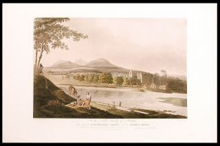 A series of four views in the English/ Scottish border country]. After Charles CATTON, senior,...