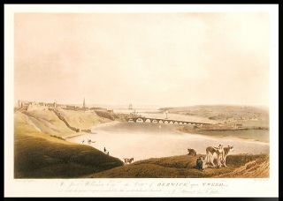 [A series of four views in the English/ Scottish border country]