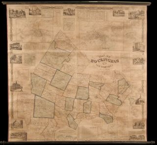 Map of Rockingham Co. New Hampshire from Practical Surveys. J. CHACE