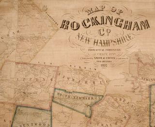 Map of Rockingham Co. New Hampshire from Practical Surveys...