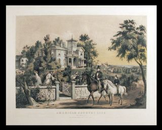American Country Life. May Morning. CURRIER, IVES - After Francis F. PALMER, publishers.