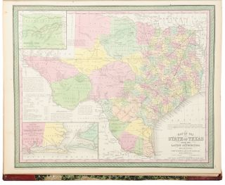 A New Universal Atlas Containing Maps of the various Empires, Kingdoms, States and Republics of the World. With a special map of each of the United States, Plans of Cities &c.
