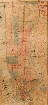 Bridgeman's New Rail Road & Township Map of New York....