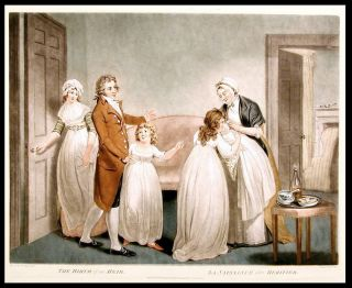 The Birth of an Heir, La Naissance d'un Heritier. William after William Redmore BIGG WARD