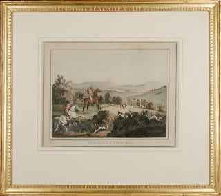 [Fox Hunting] Unkeneling Plate 1; Breaking Cover Plate 2; In Full Cry Plate 3; The Death Plate 4