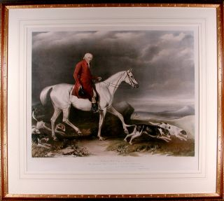 To Richard Hill Esqr. of Thornton This Portrait of John Booth is respectfully Dedictated, By......