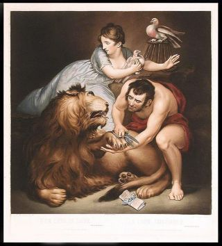 The Lion in Love... Lion Amoûreux. After James NORTHCOTE, R. A., Charles Turner