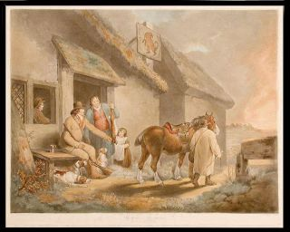 The First of September. Evening. William WARD, after George MORLAND