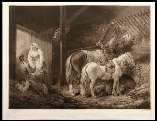 A Carriers Stable. William after George MORLAND WARD