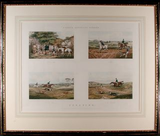 Fores's Sporting Scraps. Plate 6. Coursing. After Henry Thomas ALKEN
