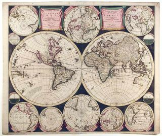 [The World and Continents - Five Maps]