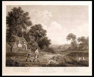 Shooting, Plate II. George STUBBS, William WOOLLETT