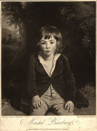 Master Bunbury. Francis after Sir Joshua REYNOLDS HAWARD, 1759 - 1797.