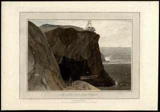 Part of the South Stack, Holyhead. William DANIELL