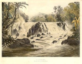 Purumama / The Great Cataract of the River Parima. Sir Robert Herman SCHOMBURGK