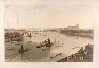 London [Westminster Bridge and Abbey]. William DANIELL