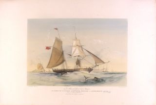 To Alexander Grant Esqre. of Carnousie This Portrait of the Clipper Schooner, Hellas, is...