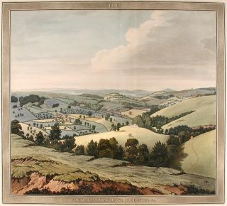 South-East View of Woodchester. Samuel LYSONS