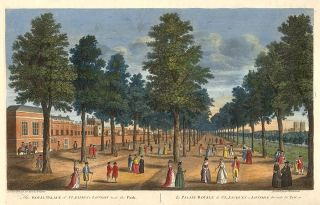 The Royal Palace of St. James's London next the Park: Le Palais Royale de St. Jacques a Londre du...
