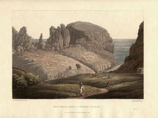 The Friar Rock in the Friars Valley. George Hutchins BELLASIS