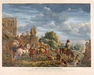 La Buvette Des Chasseurs. After Philips WOUWERMAN